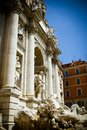 The Trevi Fountain Stock Images