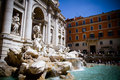 The Trevi Fountain Royalty Free Stock Photos