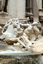 Trevi Fountain Stock Photography