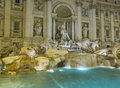 Trevi fountain details in Rome Italy Royalty Free Stock Image