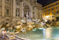 Trevi fountain fontana di trevi in rome italy Royalty Free Stock Images