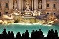 Trevi fountain (Fontana di Trevi). Rome, Italy