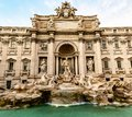 The Trevi Fountain, the largest Baroque fountain in Rome