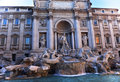 Trevi Fountain Overview Rome Italy Royalty Free Stock Images