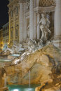 Trevi Fountain, Rome Royalty Free Stock Photos