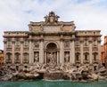 Trevi Fountain, Rome Royalty Free Stock Photo