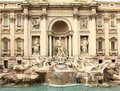 Trevi Fountain. Rome. Royalty Free Stock Image