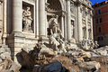 Trevi Fountain.Rome Stock Photo