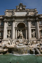 Trevi Fountain - Rome Royalty Free Stock Photo