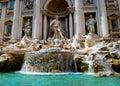 Trevi Fountain Rome Royalty Free Stock Photo