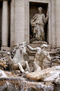 Trevi Fountain Rome Italy Royalty Free Stock Photo