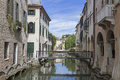 Treviso in veneto channels idyllic walkways and many bridges dominate the cityscape of the venetian provincial capital of Stock Photo