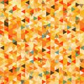 Triangle abstract background illustration Royalty Free Stock Photography
