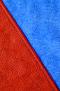 Triangle background red and blue of microfiber cloth Stock Photography