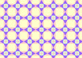 Triangle Circle and Quadrate Pattern on Pastel Color Royalty Free Stock Photography