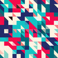 Triangle geometric shapes pattern.