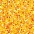 Triangle golden giltter piece seamless pattern