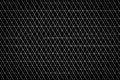 Triangle pattern background on white Stock Images