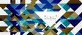 Triangle pattern design background