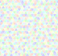 Triangle pattern. Seamless vector geometric background