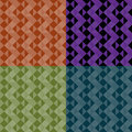 Triangle patterns Royalty Free Stock Images