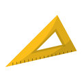 Triangle ruler utensil icon