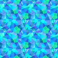 Triangle seamless pattern of geometric shapes colorful mosaic b banner Royalty Free Stock Images