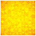 Triangle and Square Yellow Abstract Pattern Royalty Free Stock Images