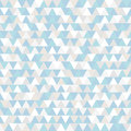 Triangle vector pattern. Blue grey and white polygonal winter holiday background. Abstract New Year illustration