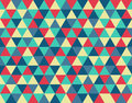 Triangle vintage Background Pattern