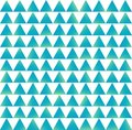 Triangles with a blue gradient. Seamless vector pattern for your design, textiles, and more. Vector