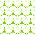 Triangles Green Seamless Pattern Background Royalty Free Stock Photo