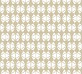 Triangles seamless pattern. Vector abstract gold and white geometric texture