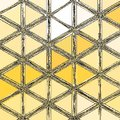 Grunge Triangles Yellow Patter...