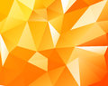 Triangular background Stock Image