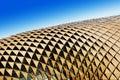 Triangular shades on roof