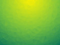 Triangular yellow green bio background