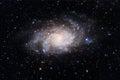 Triangulum Galaxy Royalty Free Stock Photo