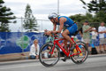 Triathlete Martin Matula de Ironman Foto de Stock Royalty Free