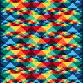 Tribal abstract seamless pattern aztec geometric