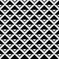 Tribal aztec abstract squares seamless pattern vector ornament ethnic Royalty Free Stock Images