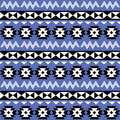 Tribal aztec seamless pattern on purple background vector ornament ethnic Stock Images