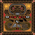 Tribal Aztec Tile Stock Photos