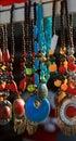 Tribal bead jewellery Stock Photography