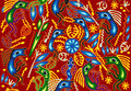 Tribal ethnic ornament Royalty Free Stock Images