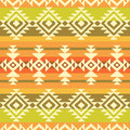 Tribal geometric striped pattern style abstract background seamless Royalty Free Stock Photography