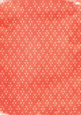 Tribal ikat diamond pattern background red repeating web print design Royalty Free Stock Photo