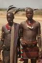 African tribal men