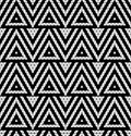 Tribal monochrome lace vector illustration Stock Images