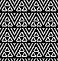 Tribal monochrome lace vector illustration Stock Photos